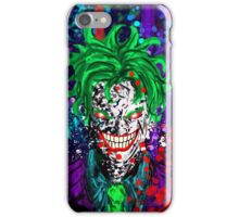 Abstract Joker iPhone Case/Skin
