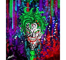 Abstract Joker Photographic Print