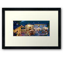 Tuscany Retreat Framed Print