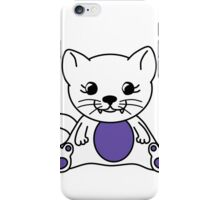 Sack Meow - Moo and Friends iPhone Case/Skin