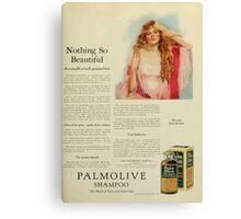 Advertisements Photoplay Magazine January through June 1922 0583 Palmolive Shampoo Canvas Print