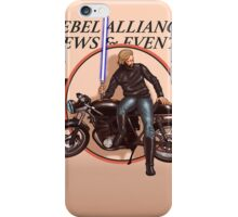 Cafe racing jedi iPhone Case/Skin