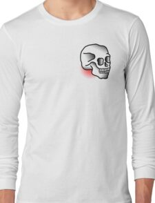Traditional Skull (Tattoo style) Long Sleeve T-Shirt