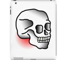 Traditional Skull (Tattoo style) iPad Case/Skin