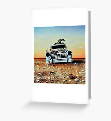 Old Holdens Never Die II Greeting Card