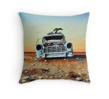 Old Holdens Never Die II Throw Pillow