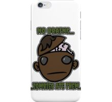No Brains...Zombies Ate Them... (Version 2.1) iPhone Case/Skin