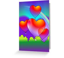 Beauty of the rainbow  Greeting Card