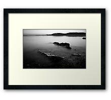 Tralee Bay, Monochrome Framed Print