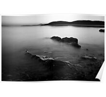 Tralee Bay, Monochrome Poster