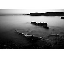 Tralee Bay, Monochrome Photographic Print