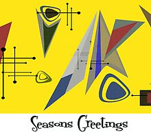 Seasons Greetings 1950's Style 2 by Graham Colton