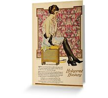 Advertisements Photoplay Magazine July through December 1921 0360 Holeproof Hoisery Greeting Card