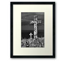 Covered in Vines Framed Print