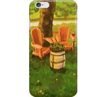 Muskoka Chairs iPhone Case/Skin