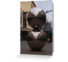 Rundle Mall Balls Greeting Card
