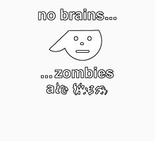 No Brains...Zombies Ate Them...(Version 1.2) Unisex T-Shirt