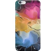 romantic pattern with roses  iPhone Case/Skin