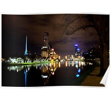 Melbourne By Night - Series Poster