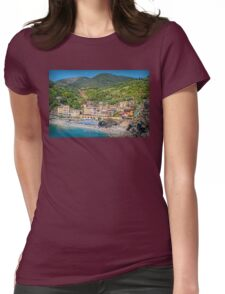 Cinque Terre Womens Fitted T-Shirt