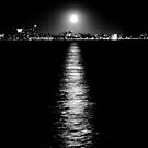 Moon Over Melbourne by Mark Goodwin