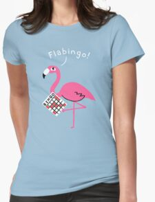 Flabingo! Womens Fitted T-Shirt
