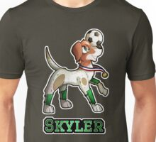Skyler - Soccer Pointer Unisex T-Shirt