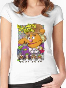 Willy Wocka and the Muppet Factory Women's Fitted Scoop T-Shirt