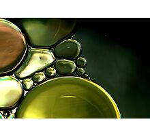 Liquid Metal Photographic Print