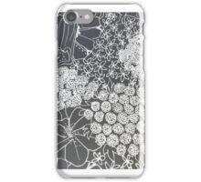 flower mono iPhone Case/Skin