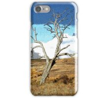 Distorted Reality Landscape iPhone Case/Skin