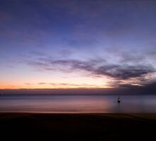 Sunset, Cottesloe Beach, W.A.  by Sandra Chung