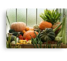 autumn harvest 2 Canvas Print