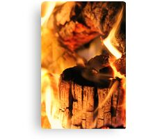 you're the fire in my heart :) Canvas Print