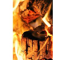 you're the fire in my heart :) Photographic Print