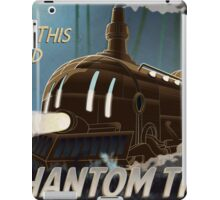 Final Fantasy VI - Come Ride the Phantom Train iPad Case/Skin