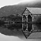 Dove Lake Boat House by Mark Goodwin