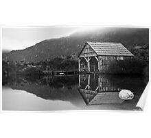 Dove Lake Boat House Poster