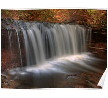 Oneida Falls (in Autumn) Poster