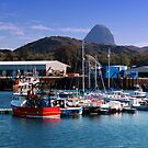 Lochinver Harbour   Suilven   Behind by Alexander Mcrobbie-Munro