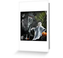 Trick or Treat at The Bates Motel ! Greeting Card