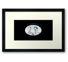 If I Were You (Jake and Amir) Framed Print