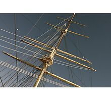 Mast in Gdynia Photographic Print