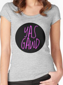 yas gawd Women's Fitted Scoop T-Shirt