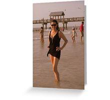 Florida Sun Greeting Card