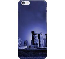 Stonehenge at Night iPhone Case/Skin