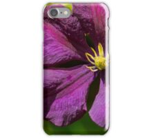 Clematis  iPhone Case/Skin