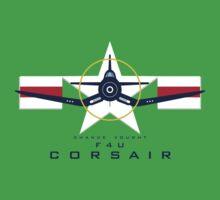 F4U Corsair Warbird Graphic1 Kids Tee