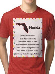 Florida Information Educational Tri-blend T-Shirt