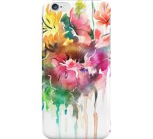 Flowers. Watercolor illustration iPhone Case/Skin